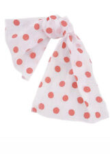 Rock N Roll 50s Polka Dot Poodle Scarf - Womens Ladies Fancy Dress Accessory