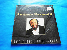 Luciano Pavarotti The Masterpieces (3 LP Vinyl New) Opera Classical 33 RPM 12""