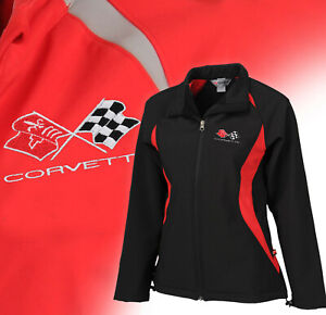 1968-1982 Corvette Women's Double Apex Jacket with Embroidered C3 Logo 698453