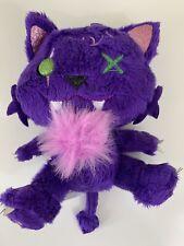 """Mattel Monster High 6"""" Purple Crescent Cat Plush Clawdeen Wolf Pet"""