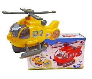 Hubschrauber Kinder Spielzeug mit Musik & Licht Helikopter Modellflugzeug