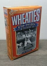Vintage Wheaties Cereal w/ Lou Gehrig 12 oz Full Box Factory Sealed