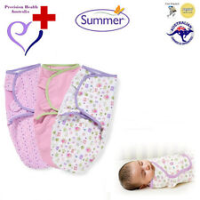 "Summer Infant SwaddleMe Swaddle 3-Pack (""Who Loves You""