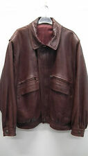 Beautiful Brown Leather Jacket From Spain Size Medium/ Large
