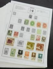 EDW1949SELL : MEXICO Mint & Used collection of 786 all different on album pages