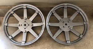 Polaris Peg Perego RZR 900 Wheel Covers Lot Of 2 Genuine