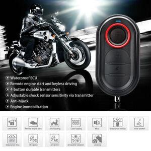 Anti-theft Motorcycle Alarm System Steelmate  Remote Engine Start Waterproof