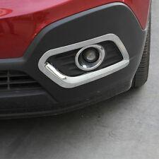 Front Bumper Fog Light Chrome Cover For Mokka Buick Encore 2013 2014 2015