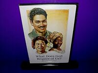What Does God Require Of Us Watchtower Jehovah Witness DVD Brand New B510