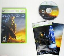 Halo 3 Microsoft Xbox 360 Complete Manual and Poster