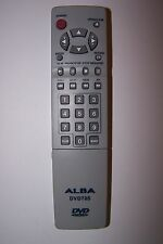 ALBA DVD REMOTE CONTROL for DVD70S missing battery hatch