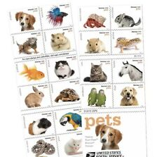 USPS New Pets Booklet of 20          NEW         FREE DOMESTIC SHIPPING