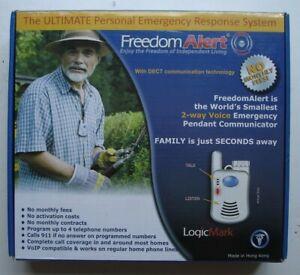 LogicMark Freedom Alert 35511 Personal Emergency Response System/Pendant
