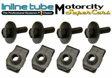 GM CORRECT LOWER FENDER BODY FRONT END HARDWARE BOLT BOLTS  ANCHOR HEAD NOSR 8pc