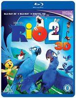 Rio 2 [Blu-ray] [DVD][Region 2]