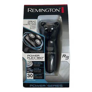 NEW Remington PR1235 R3 Power Flex 360 Rotary Shaver Black Cordless Use Trimmer