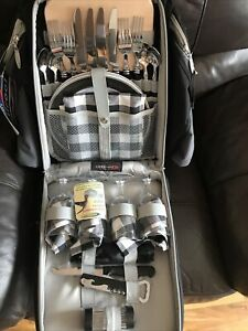 Concept Picnic Rucksack Acticool insulated Bag with Picnic Accessories For 4 New