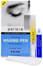 Parissa Eyebrow Wax Pen - Hair Removal for Women Waxing Kit - Wax Kit for