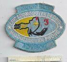 Vietnam War US Navy COSFLOT 3 River Division Advisor Shoulder Patch Nam USN Nam