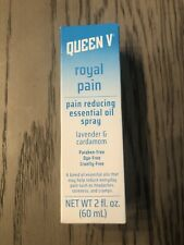 Queen V Royal Pain Essential Oil Spray Women Cramps Headache Soreness 2 fl. oz