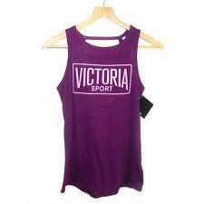 NEW Genuine VICTORIA'S SECRET Victoria Sport Banded-Back Tank Vest Top Size XS