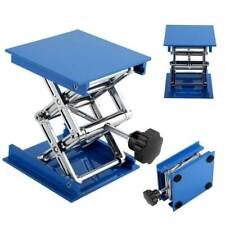 Blue Stainless Steel Lab-Lift Lifting Platform Stand Rack Scissor Jack Rack Dent