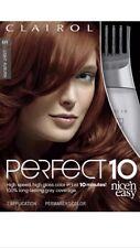 Clairol Perfect 10 By Nice 'n Easy Hair Color 6R Light Auburn Clairol