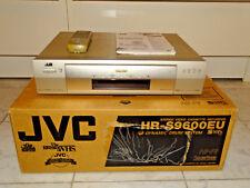 JVC hr-s9600 High-End S-VHS Video recorder in OVP Top gepglegt, 2j. GARANZIA