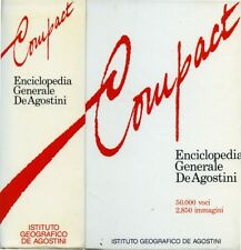 * Compact - Enciclopedia Generale De Agostini - 1988 *