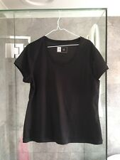 Women's Black T-shirt Size 18