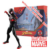 Miles Morales Comic Heroes Marvel Spiderman into the Verse 7in Action Figure Toy