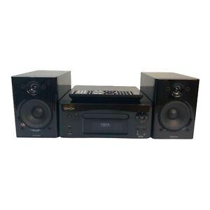 Denon CEOL RCD-N8 CD Player Internet Radio Remote Speakers