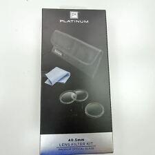 40.5mm Lens Filter Kit Platinum Neutral Density Filter ND 0.9 Glass With Case