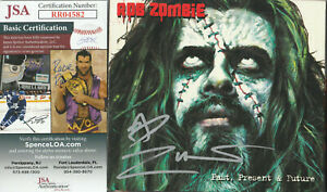 SIGNED ROB ZOMBIE AUTOGRAPHED PAST PRESENT CD CERTIFIED AUTHENTIC JSA # RR04582