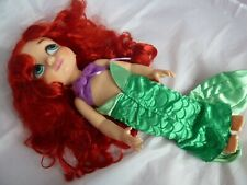 Disney Store Animator Doll Princess Ariel Little Mermaid 16inch