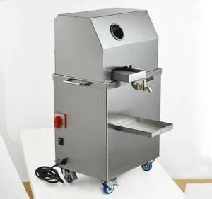 Sugar Cane Juicer Sugarcane Juice Press Machine Automatic Electric 220V