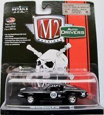 1968 Ford Mustang GT 390  schwarz  / M2 Machines 1:64