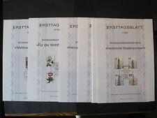 Berlin Ersttagblätter 1-9 Jahrgang 1983 komplett