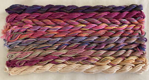#2 Pink/Purple Colors 10 Caron Waterlilies 12 Ply Silk Thread Without Tags