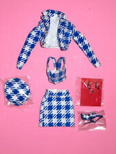 """Integrity Fashion Royalty - Colette Checking In 12"""" Doll Outfit"""