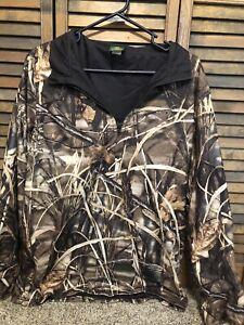 Cabelas Camo Zip Sweatshirt Medium