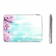 "13-Inch Pink Hyacinth Zipper Sleeve Bag for 13"" Macbook / Air / Pro / Chromebook"