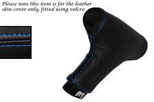 Blue stitch automatique auto pommeau de vitesse en cuir peau couvrir fits PORSCHE 928 78-95