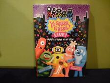 Yo Gabba Live DVD Sealed NIP Party In My City 2012 Video 2 Disc Set Muno Plex