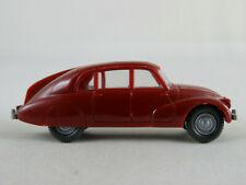 Wiking 827/1B Tatra 87 Limousine (1937-1948) in braunrot 1:87/H0 guter Zustand