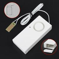 9V Water Leak Alarm Flood Level Overflow Out Detector Sensor Home Security 120dB