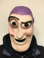 Adult Buzz Lightyear Face Mask Super Hero Movie Fancy Dress Party Toy Story