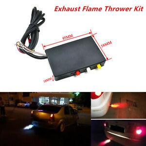 Car SUV Aircraft Exhaust Flame Thrower Kit Fire Burner Afterburner Universal 12V