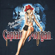 Captain Morgan Rum Tiki Bar Mancave Advertisement Fridge Magnet 2.5x3.5 #15