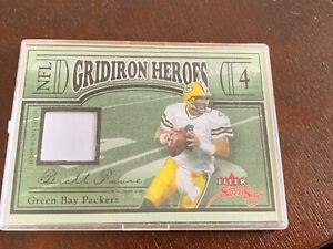 Brett Favre 2004 Fleer Sweet Sigs Jersey Card -  Prime /4 - Green Bay Packers SP